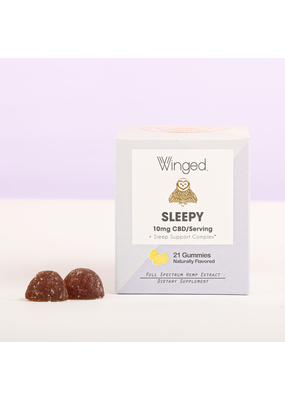 Winged CBD WINGED Sleepy Gummies