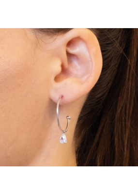 Kestan Geyser - 925 Sterling Silver Earring