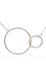 Kestan Huntington Necklace Silver