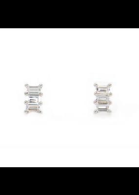 Kestan League - 925 Sterling Silver Earring