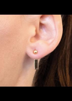 Kestan Windsong - 18K Gold Vermeil Adjustable Earring