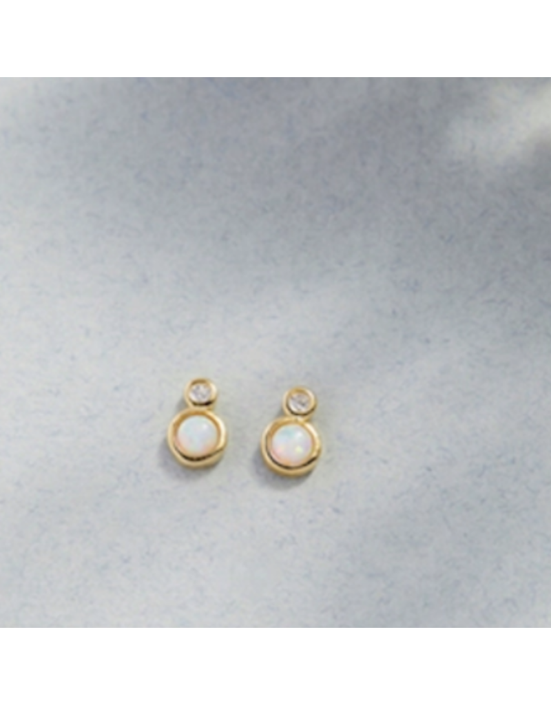 Quill Fine Jewelry & Lifestyle Double Circle Opal Studs