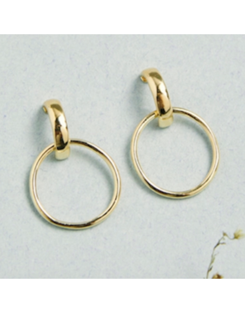Quill Fine Jewelry & Lifestyle Double Hoop Ear Knockers