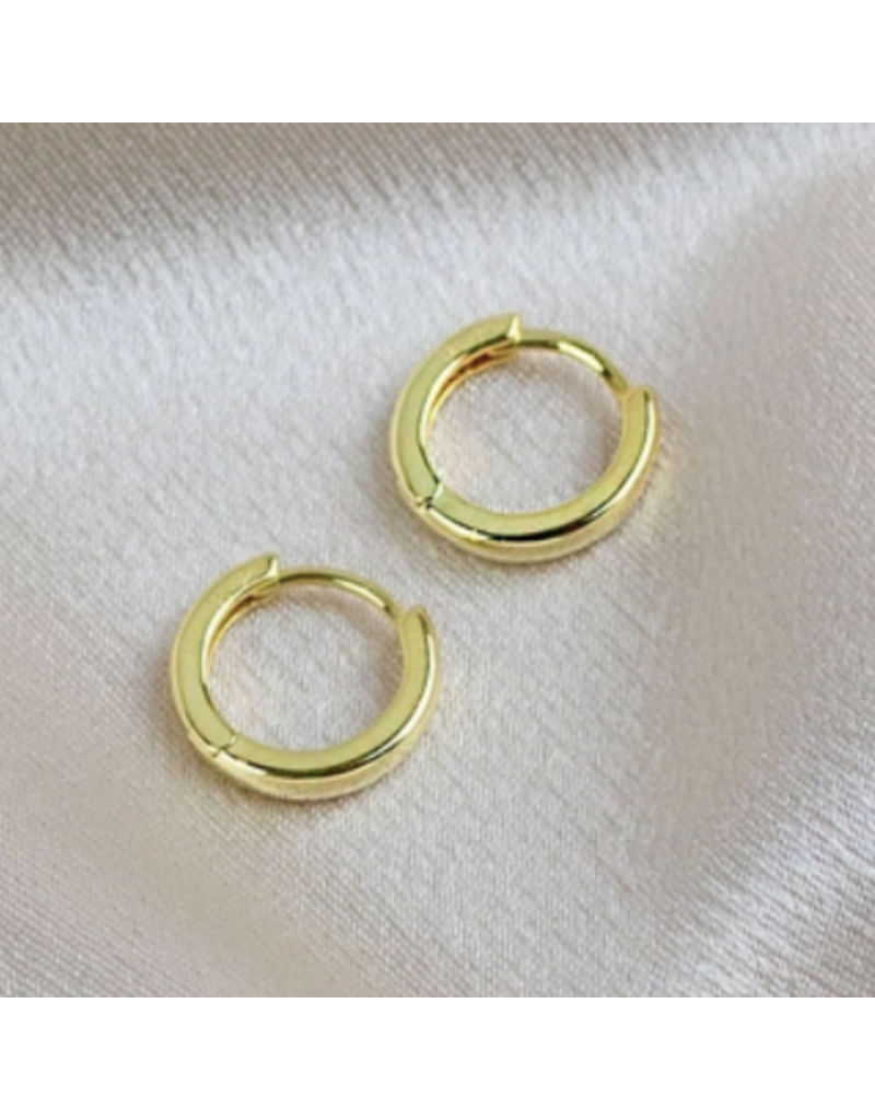 Quill Fine Jewelry & Lifestyle Gold Huggie Earrings