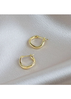 Quill Fine Jewelry & Lifestyle Irregular Hoop Earrings