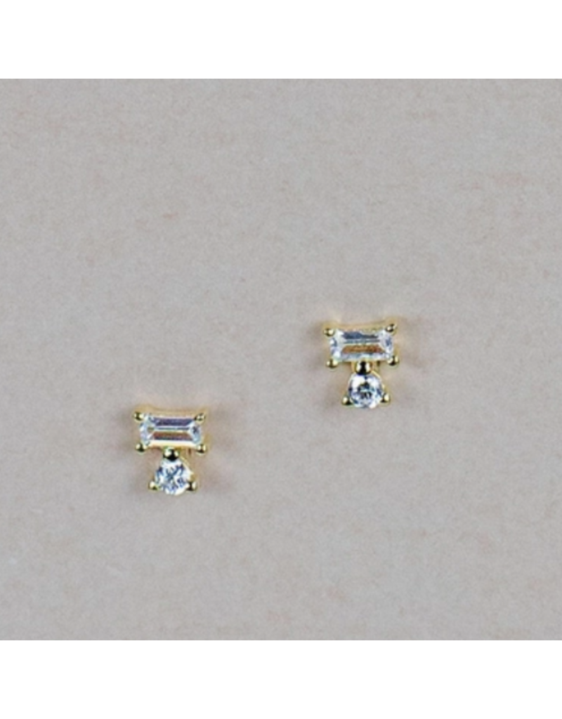 Quill Fine Jewelry & Lifestyle Tiny Geo Stud Earrings