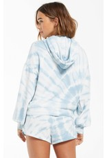 Z Supply Eva Spiral Tie-Dye Hoodie