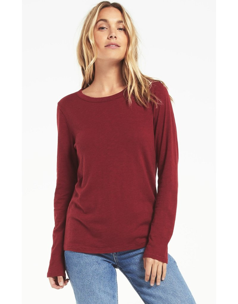Z Supply Everyday Brushed LS Top