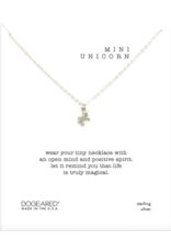 Dogeared Mini Unicorn Necklace Silver