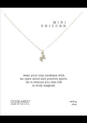 Dogeared Mini Unicorn Necklace Silver