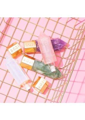 Soji Energy Crystal Serum Applicator / Essential Oil Gua Sha Beauty Tool