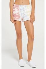 Z Supply Malibu Tie Dye Short White