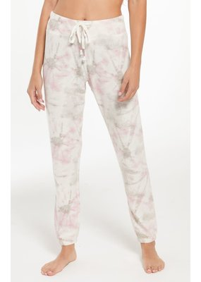 Z Supply Ava Tie Dye Jogger Bone