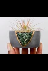 Tal & Bert Green Apatite Mini Planter