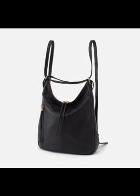 Hobo Bags Merrin Convertible Backpack Velvet Hide Black