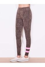 Sundry Stripe Floral Yoga Pant