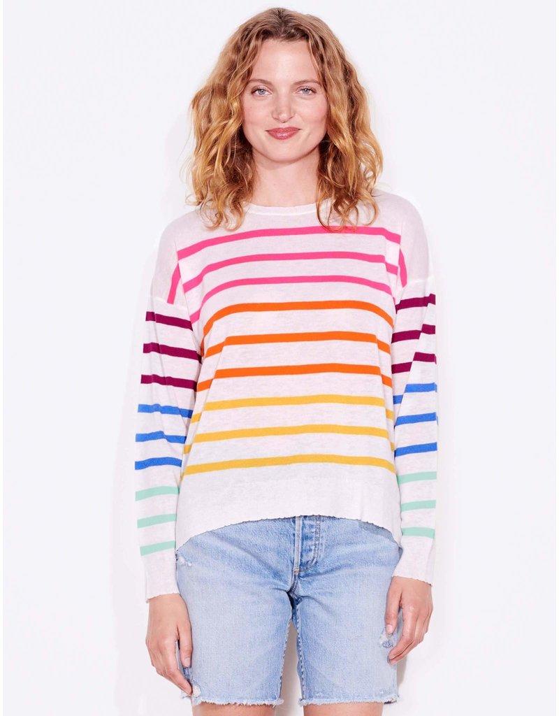 Sundry Multicolor Stripe Crew