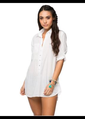 Subtle Luxury Boyfriend Shirt White