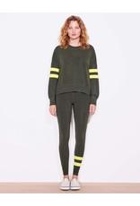 Sundry Yellow Stripe Sweatshirt