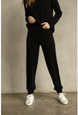 Knititude Black Pull On Joggers