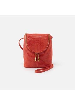 Hobo Bags Fern Crossbody Bag Buffed Hide Lava