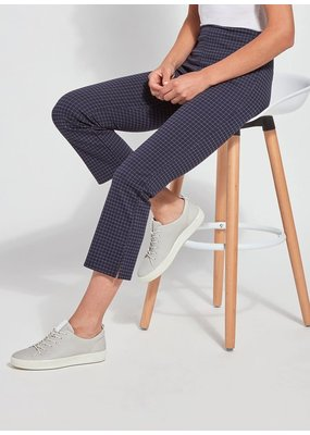Lysse Kick Flare Mini Checkered Crop Pant