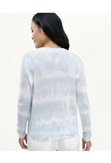 Splendid Sunkissed Tie Dye Sweater Sky Multi