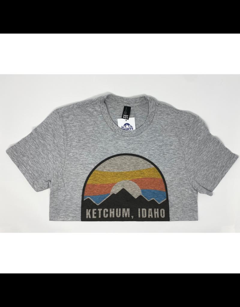 Ketchum ID Tee Light Heather Grey