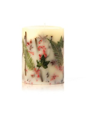 Rosy Rings Small Round Botanical Candle