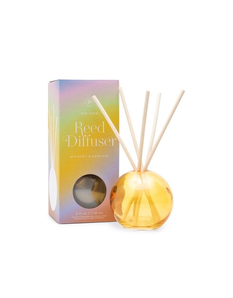 Paddywax Realm Glass Sphere Reed Diffuser 4 Oz