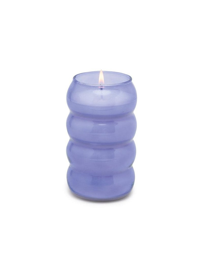 Paddywax Realm Tall Bumpy Glass Candle 12 Oz