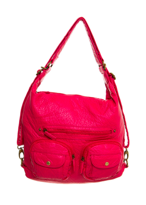 Ampere Creations Convertible Crossbody Backpack B333 W