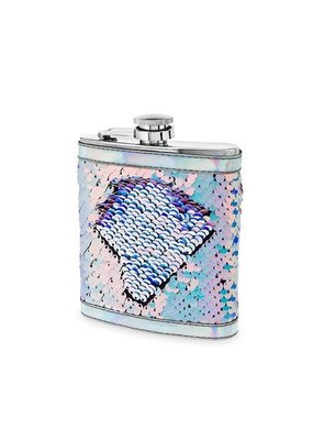 True Brand Sequin Flask