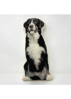 Broderpress Bernese Mountain Dog Pillow