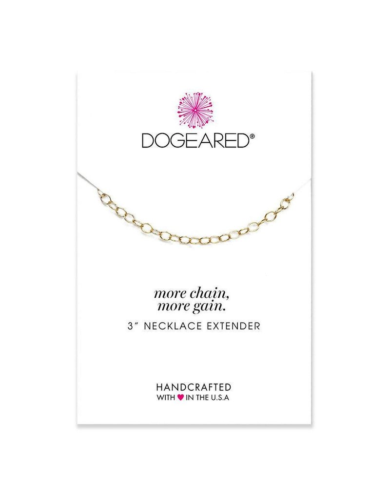 Dogeared More chain, more gain necklace extenders