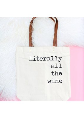 Fun Club Literally All The Wine Tote