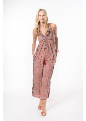Cienna Maya Jumpsuit- Pink