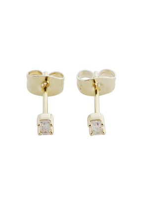 Honeycat Jewelry Crystal Baguette Studs