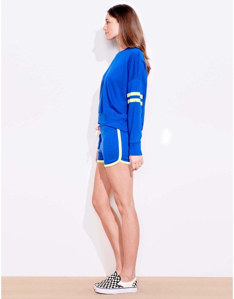 Sundry Varsity Stripe Sweatshirt