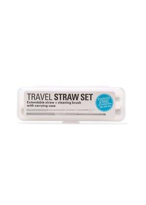 Kikkerland Travel Straws