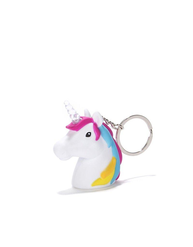 Kikkerland Unicorn Keychain