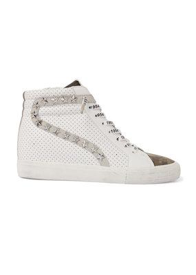 Vintage Havana Shiloh High Top Sneaker White Camo