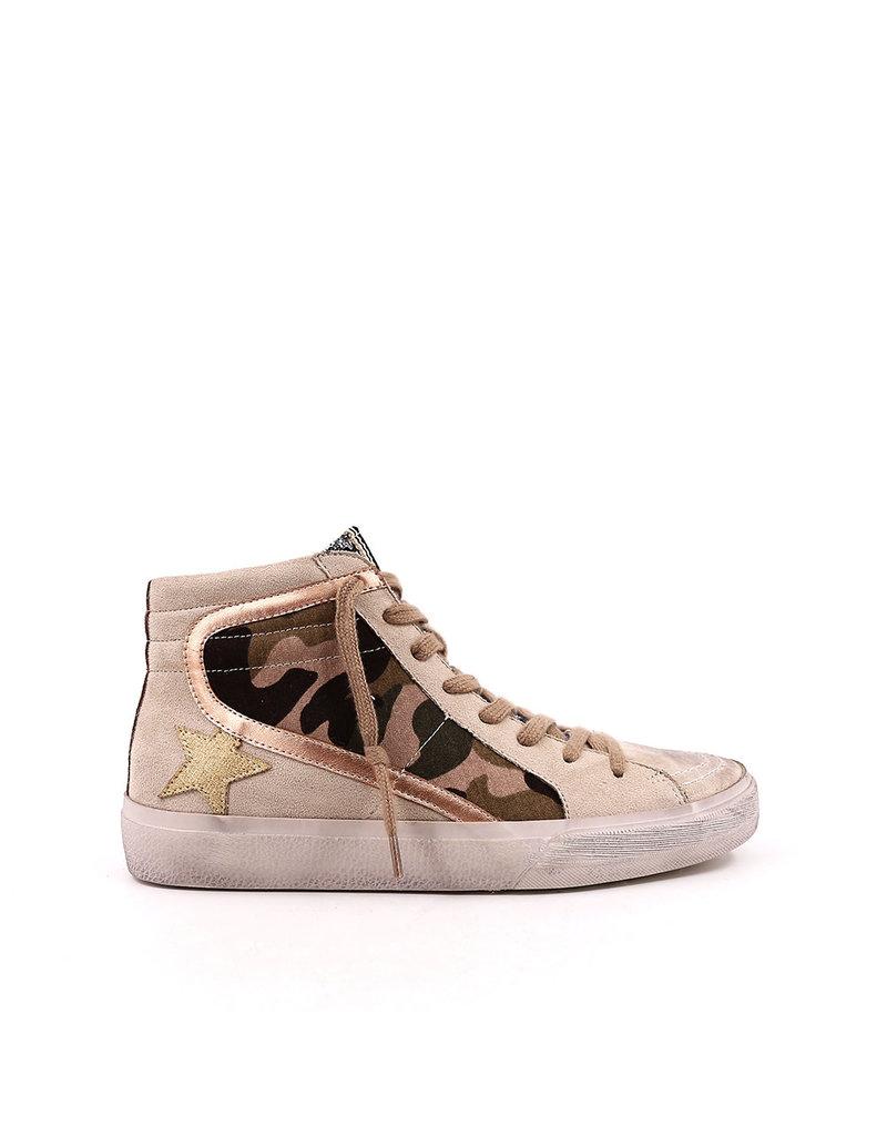 Shu Shop Roxanne High Top Sneaker Camo