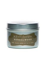 K Hall Designs 2 0z travel candle