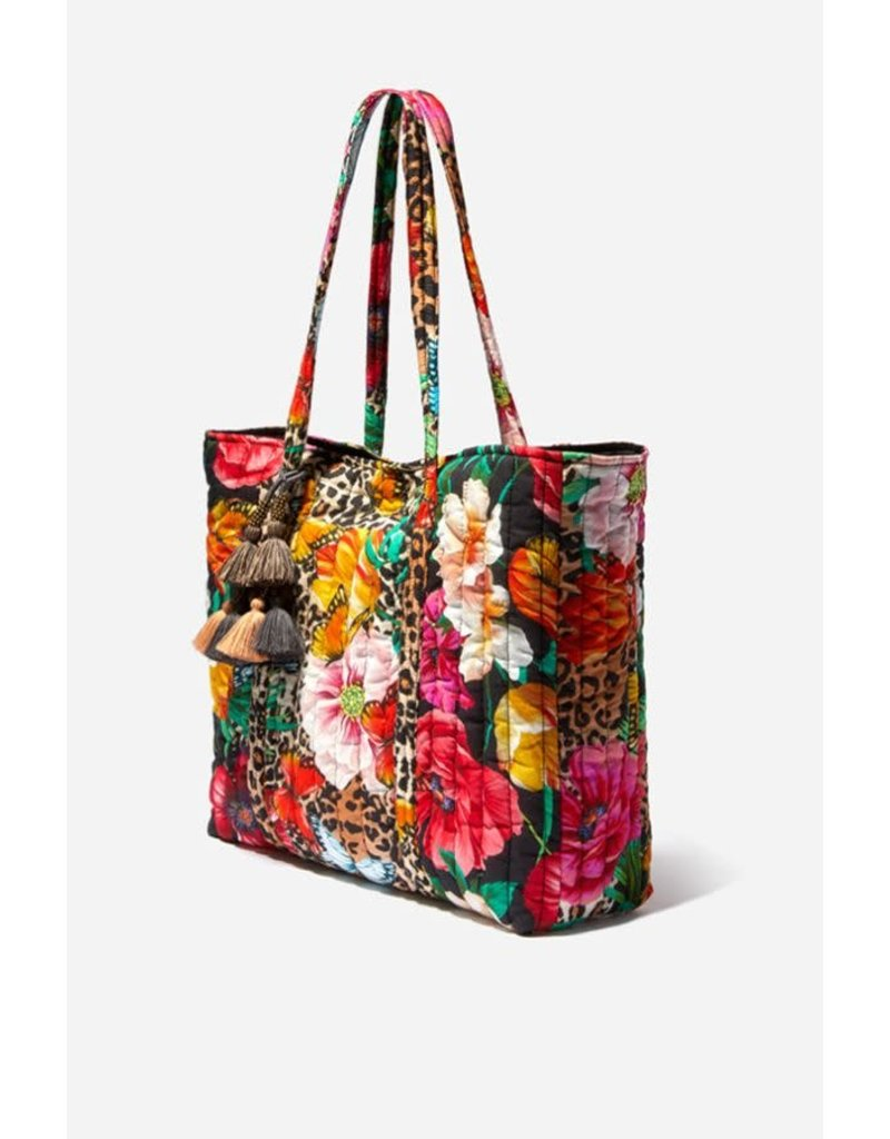 Johnny Was Quilted Tote Bag