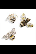 Two's Company Bee pin
