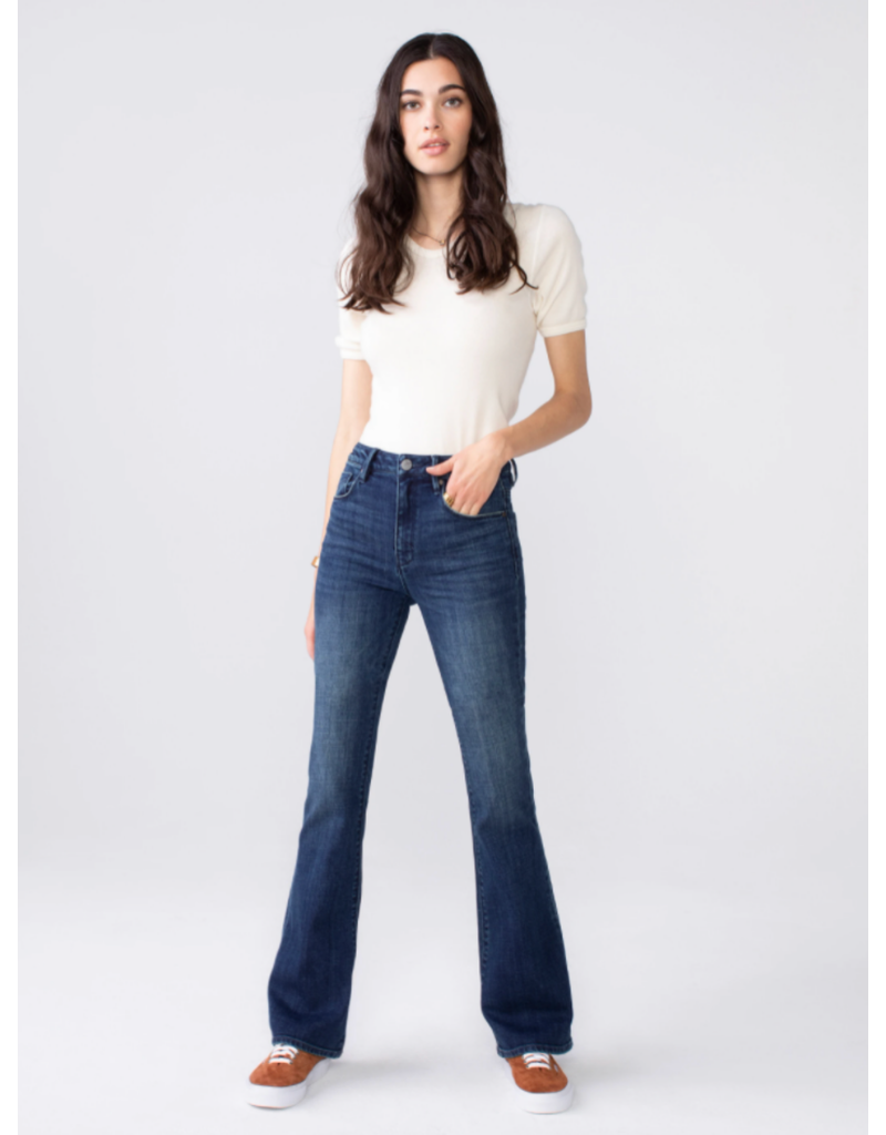 Unpublished Jan High Rise Slim Flare in Ardent