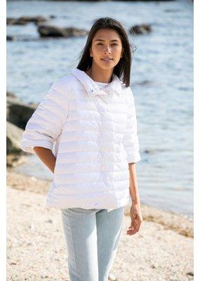 Anorak Crop Sleeve Puffer Jacket