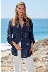 Johnny Was Stargazing Button Down Tunic