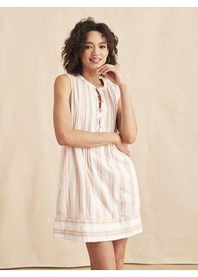 Faherty Isha Dress Maple Serape